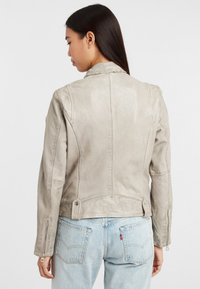 Gipsy - Leather jacket - grau grey - 2