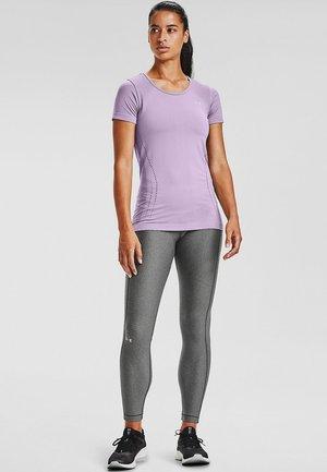 SEAMLESS  - Print T-shirt - slate purple