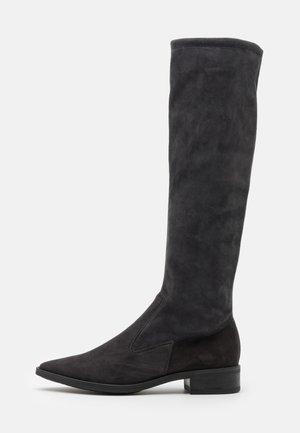 AMINA - Vysoká obuv - carbon