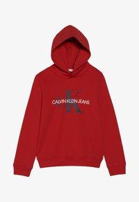 Calvin Klein Jeans - MONOGRAM HOODIE - Hoodie - red - 2