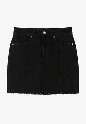 Gonna di jeans - black