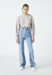 PULL&BEAR - Sweatshirt - mottled beige - 1