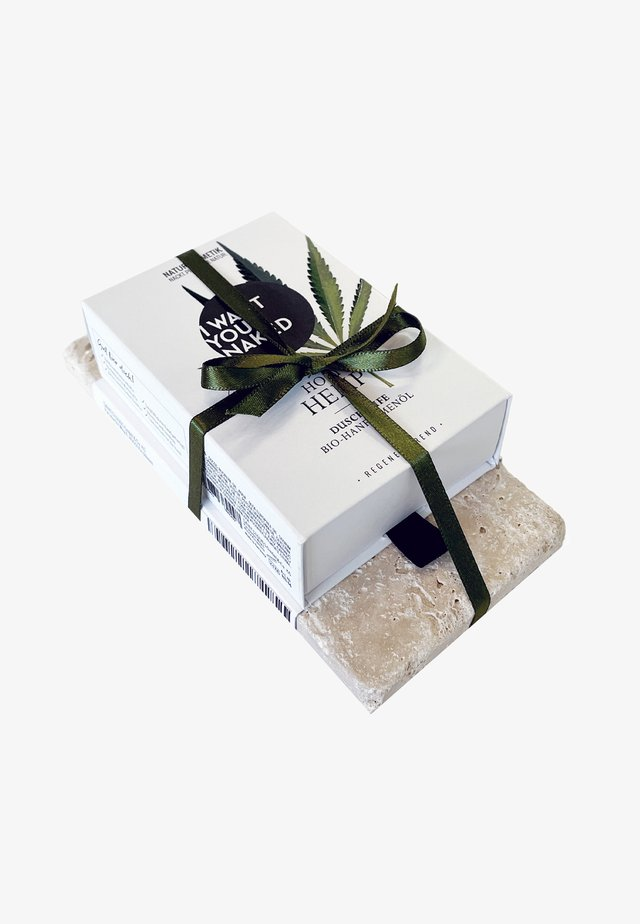 SOAP & STONE - Set pour le bain et le corps - holy hemp