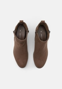 Dorothy Perkins - MACRO ZIP - Kotníková obuv - light brown - 5