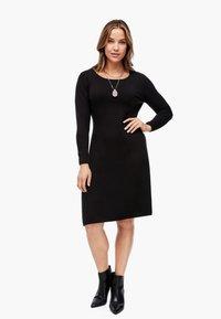 Triangle - Jumper dress - black - 1