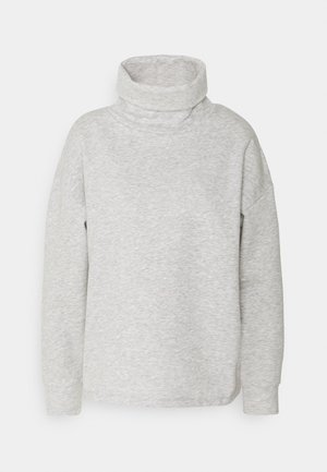 JDYTILDE COWLNECK  - Sweatshirt - light grey melange