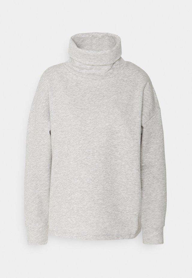 JDYTILDE COWLNECK  - Sweatshirt - light grey melange