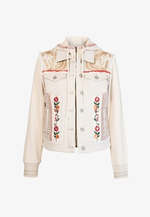 ERICA - Denim jacket - white