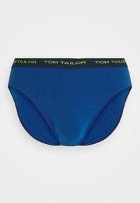 TOM TAILOR - BRIEF 3ER PACK - Briefs - blue dark - 1