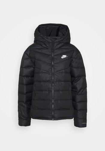 WINDRUNNER - Down jacket - black