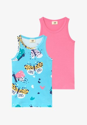 FUNNY BUTTERFLIES 2 PACK  - Camiseta interior - turquoise