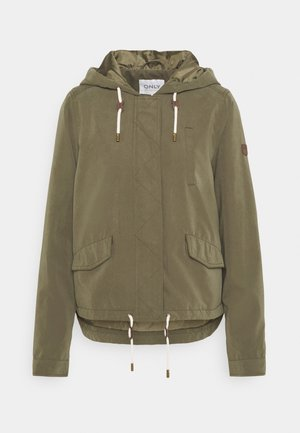 ONLSKYLAR HOOD JACKET - Summer jacket - kalamata