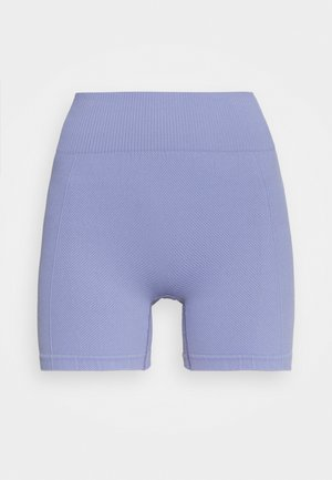 LIFESTYLE SEAMLESS SHORTIE SHORT - Leggings - periwinkle