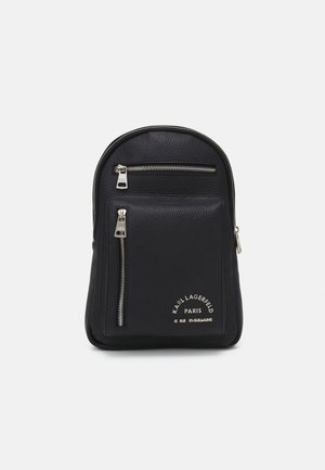 CROSSBODY BAG UNISEX - Torba na ramię - black