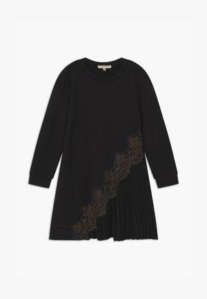 MILANO  - Žerzejové šaty - nero