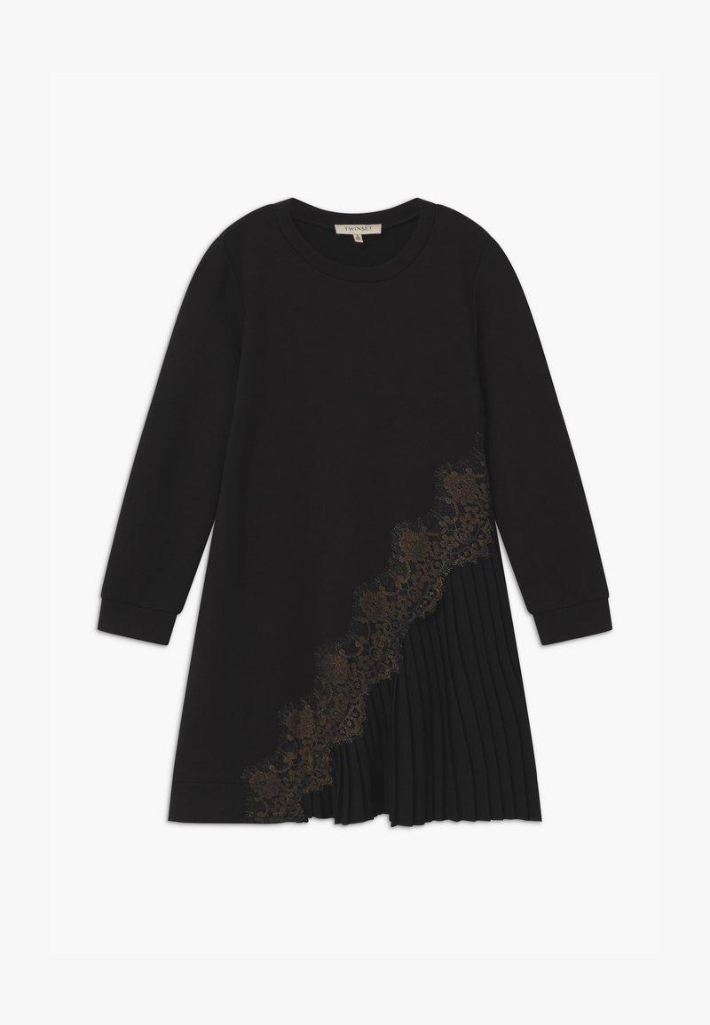 TWINSET - MILANO  - Žerzejové šaty - nero
