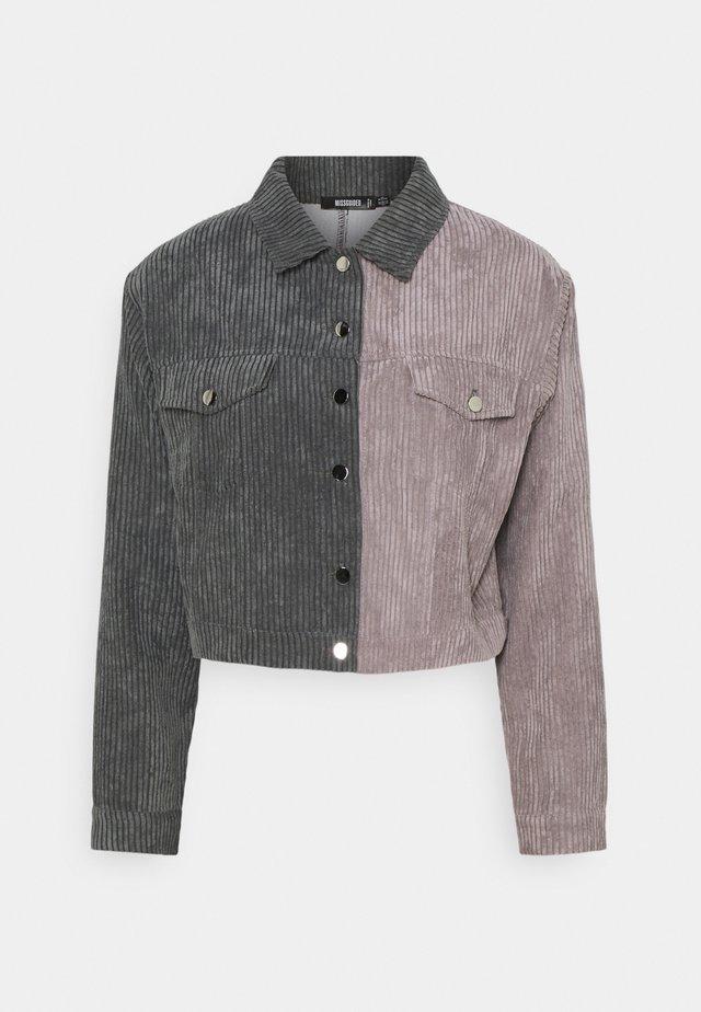 SPLICED POCKET DETAIL JACKET - Summer jacket - multi