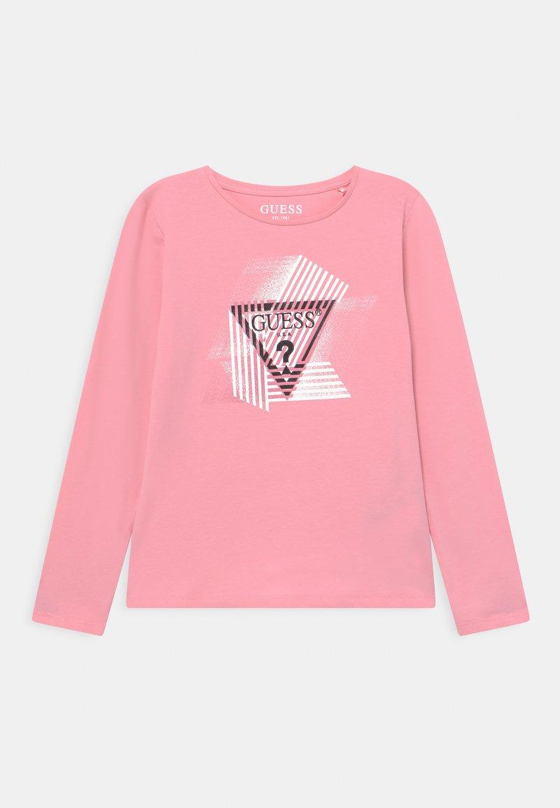 Guess - JUNIOR - Long sleeved top - pop gum pink