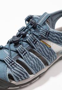 Keen - CLEARWATER CNX - Walking sandals - blue mirage/citadel - 5