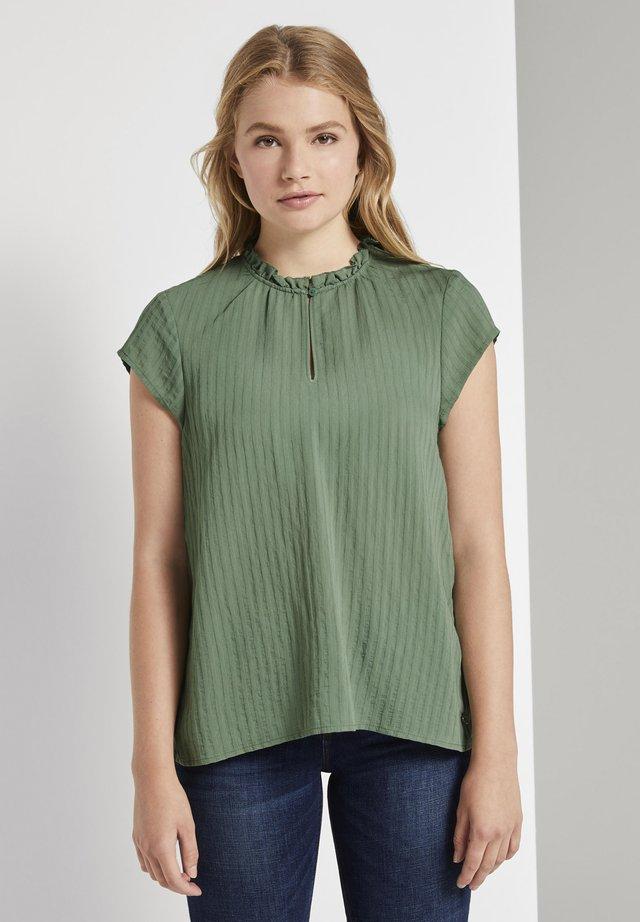 Bluzka - vintage green