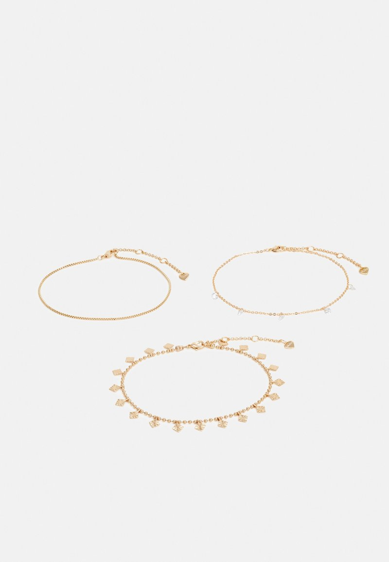 ALDO - SUSAE 3 PACK - Bracelet - gold-coloured/clear