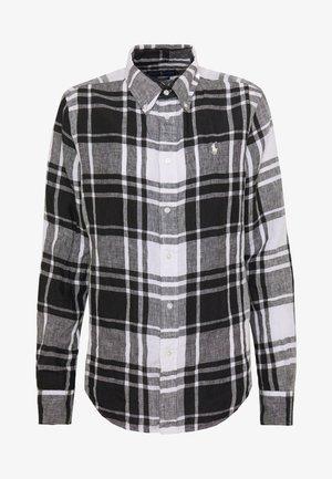 GEORGIA CLASSIC LONG SLEEVE - Camisa - white/black