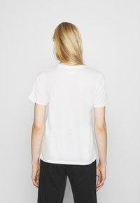 Even&Odd - 2 PACK - T-shirt basic - black/white - 2