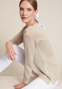 Luisa Spagnoli - Jumper - var beige/beige - 3
