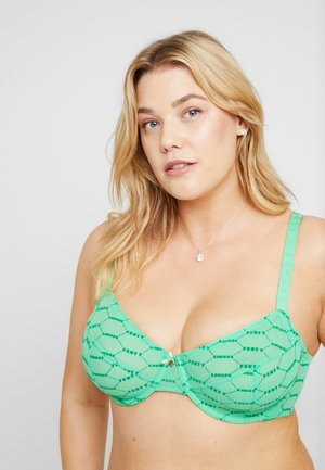 PLUS UNDERWIRE BRA - Bøyle-BH - irish green