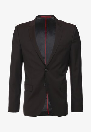 Suit jacket - dark red