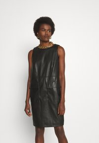 Trussardi - DRESS SOFT - Day dress - black - 2