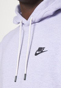 Nike Sportswear - HOODIE - Hoodie - purple chalk/smoke grey - 5