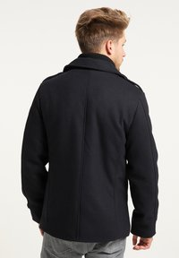 Petrol Industries - Short coat - black navy - 2