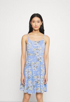 CAMI DRESS - Robe d'été - blue