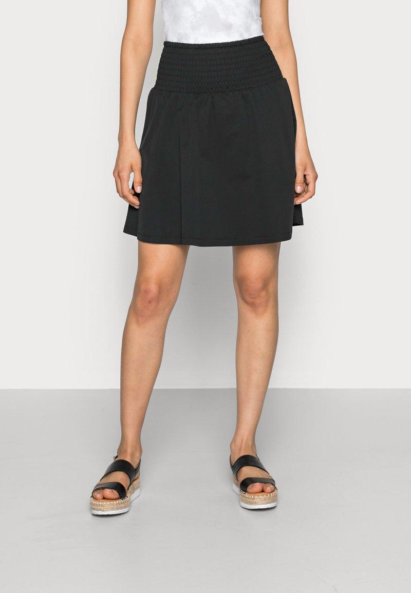Moss Copenhagen - LANA SKIRT - Mini skirt - black