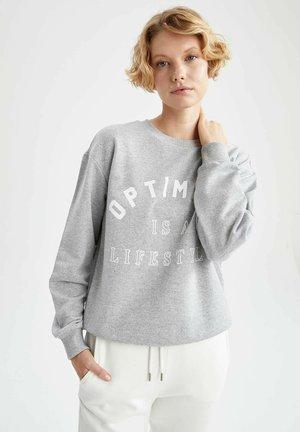 REGULAR FIT  - Sweatshirt - grey