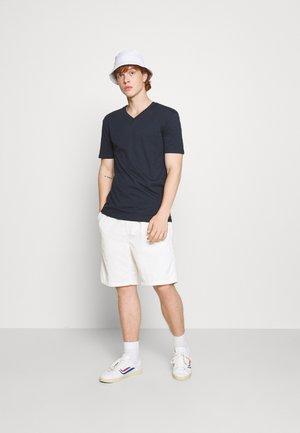 V NECK 3 PACK - Basic T-shirt - navy
