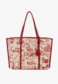 PERRY PRINTED  - Shoppingveske - red destination