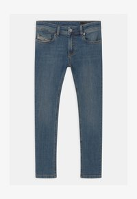 Diesel - SLEENKER UNISEX - Džíny Slim Fit - blue denim - 0