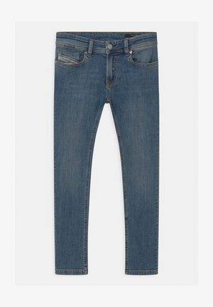 SLEENKER UNISEX - Slim fit jeans - blue denim