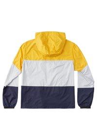 DC Shoes - DAGUP BLOCK PACKABLE - Waterproof jacket - golden rod - 1