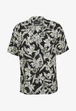 CHEMISE FLORAL PRINT - Camicia - black