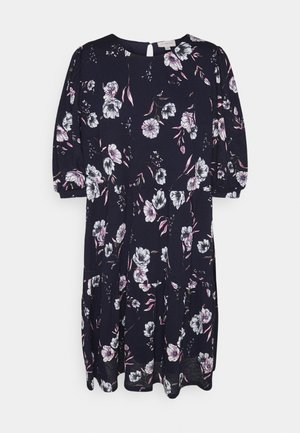 CARPELLY PEPLUM DRESS PLUS - Day dress - night sky