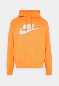 HOODIE - Felpa con cappuccio - electro orange