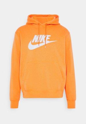 HOODIE - Bluza z kapturem - electro orange