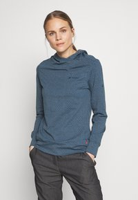 Vaude - WOMENS TUENNO PULLOVER - Langærmede T-shirts - baltic sea - 0