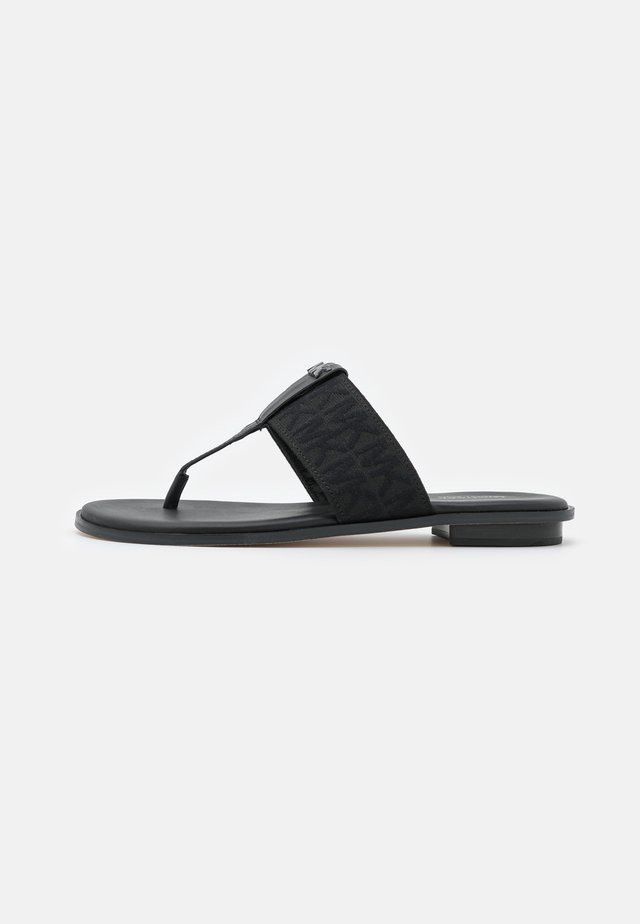 VERITY THONG - T-bar sandals - black