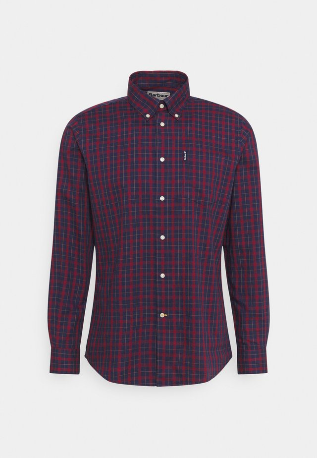 BARBOUR COUNTRY CHECK TAILO - Hemd - navy