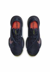 Nike Performance - AIR ZOOM SUPERREP 2 UNISEX - Sportovní boty - blackened blue/bright mango-cyber - 1