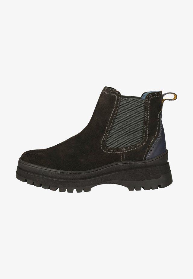 Korte laarzen - antracite grey c